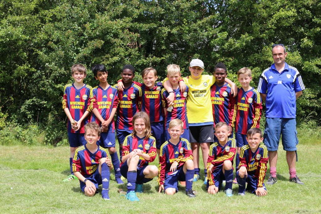 Wivenhoe Tempest U12 Youth Footballers